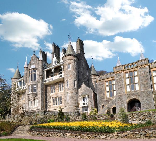 Plas Rhianfa, Chateau Rhianfa. Anglesey, Wales