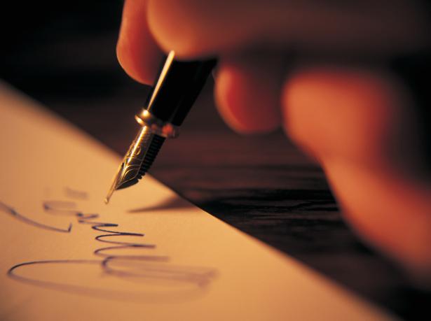 Assinatura do Poeta -  Imagem cedida gentilmente por ©Royalty-Free/Corbis