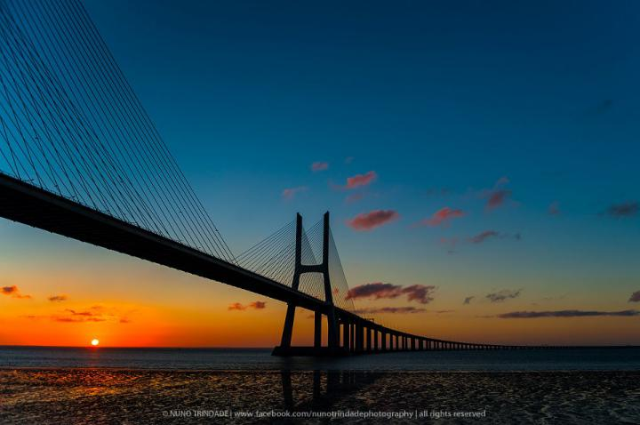 Ponte Vasco da Gama, Lisboa - Foto de Nuno Trindade
