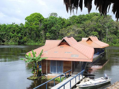 Pousada-Uacari,-Tefé,-Amazonas