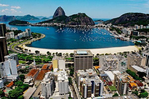 Praia de Botafogo - Foto  Pedro Kirilos