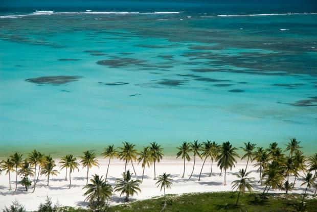 Praia de Juanillo, um dos paraísos de Punta Cana.