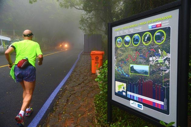 Prefeitura entrega a Vista Chinesa totalmente reformada e o recapeamento das estradas de acesso