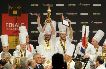 Premiação Bocuse D'Or 2015 - Primeiro Lugar: Noruega