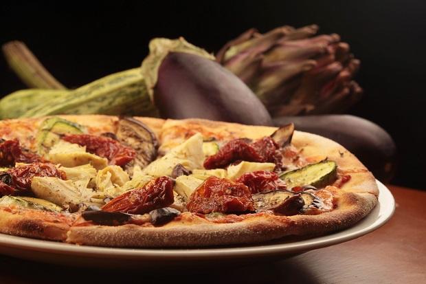 Primitivo - Pizza ortolana. Foto: Berg Silva