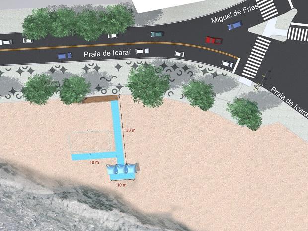Projeto Esteira Mix - Praia de Icaraí