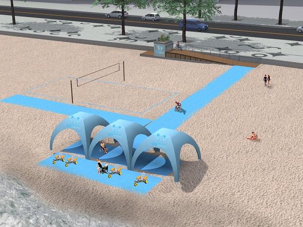 Projeto Esteira Mix na Praia de Icaraí