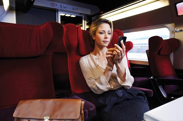 Rail Europe lança aplicativo para tablets e celulares em português_Na imagem, primeira classe do trem Thalys_Crédito Rail Europe