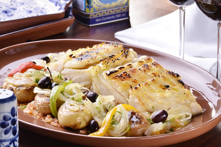 Bacalhau à Narciso. Foto: Marcelo Cabral