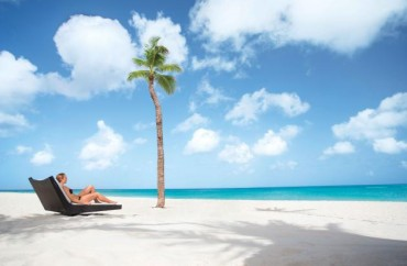 Relaxando na praia Manchebo_Credito_ATA_