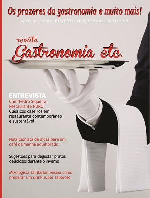 Revista Gastronomia etc - edição 01