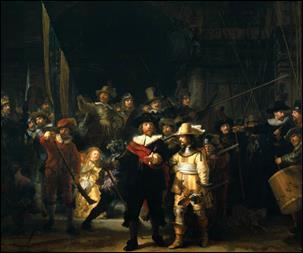 Ronda Noturna, de Rembrandt van Rijn, o grande destaque do acervo do Rijksmuseum