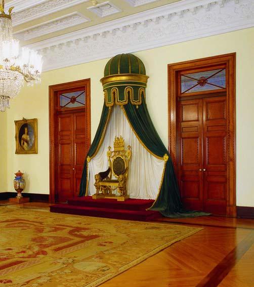 Sala de Estado - Museu Imperial