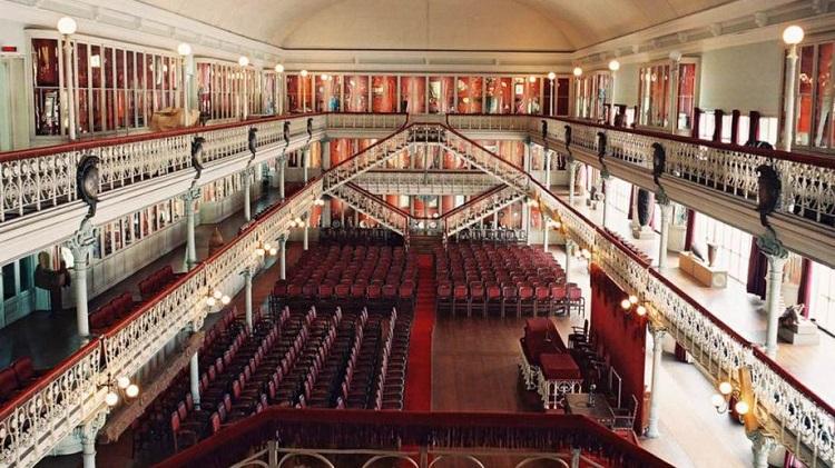 Sala de Portugal na Sociedade Portuguesa de Geografia Foto de Nelson Carvalheiro