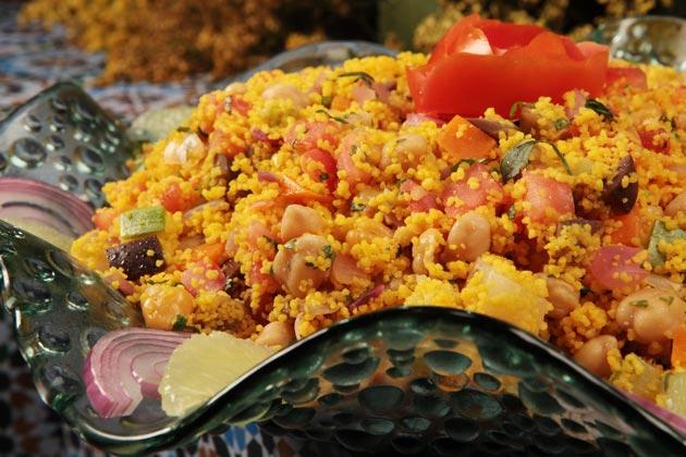 Salada Marroquina - Reveillon 2014
