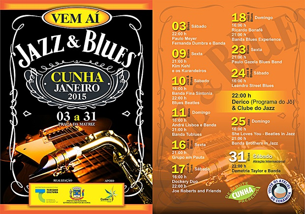 Shows de Jazz e Blues