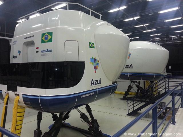 Simulador de voo (Azul)