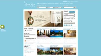 Site do grupo Porto Bay recebe prêmio