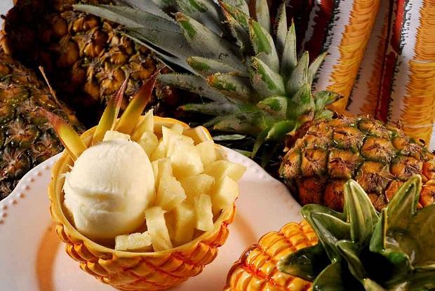 Sorvete Itália _Sorvete de abacaxi_em baixa