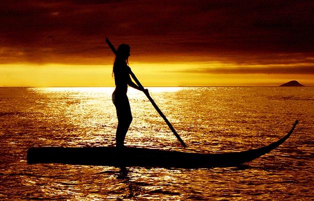 Stand Up Paddle na Praia do Curral em Ilhabela-SP