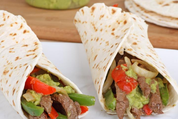 Steak or Chicken Fajitas