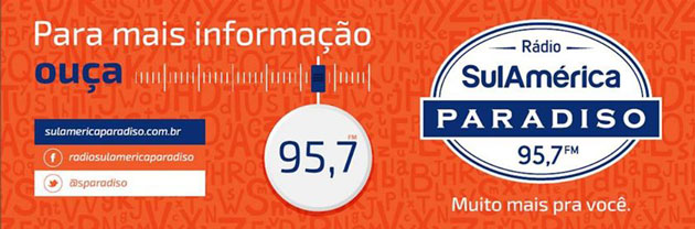 SulAmérica Paradiso FM 95.7 do Rio de Janeiro