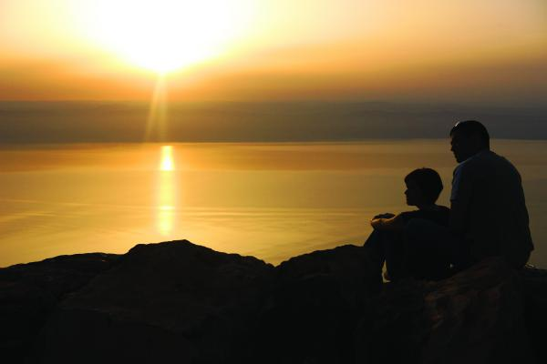 Sunset at Dead Sea 1
