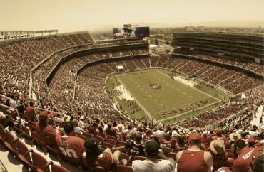 Levi´s Stadium, casa do time San Francisco 49ers.
