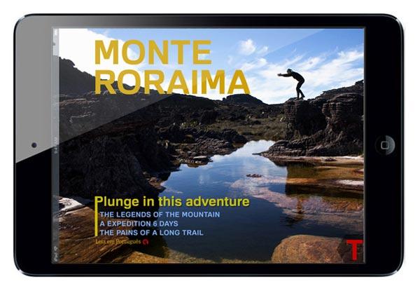 T - Monte Roraima capa iPad horizontal
