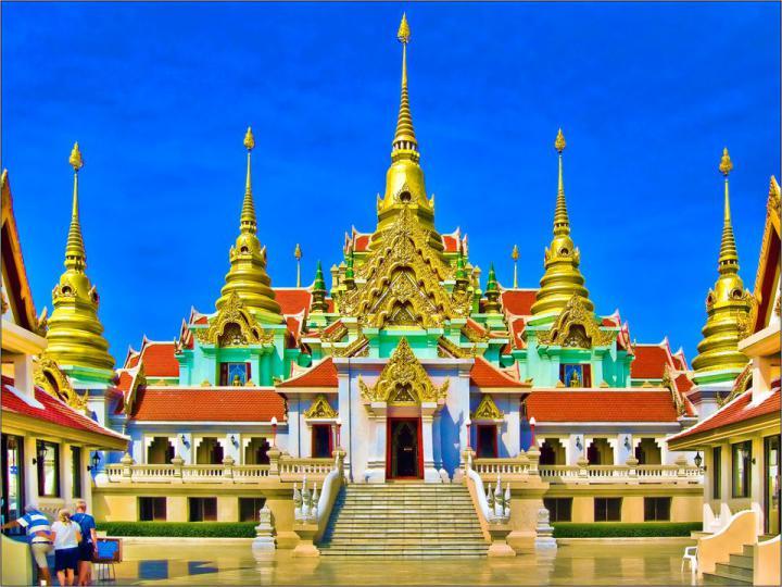 Temple at Baan Krud, Thailand