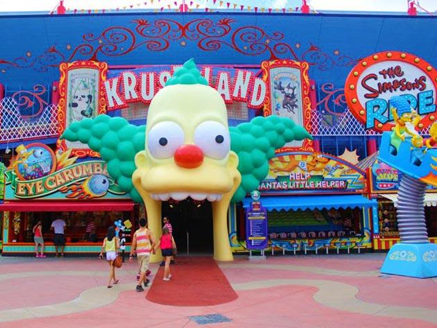 The Simpsons Ride, no parque Universal Orlando