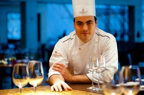 Thomaz Leão - chef do restaurante Terraço Jardins