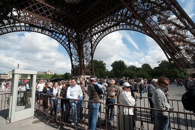 Torre Eiffel. Foto: iStock ©robas