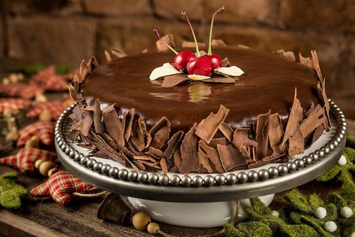Torta Chocolate com pão de mel. Foto: Tomás Rangel