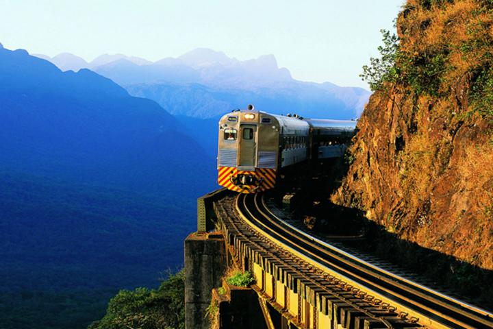 Trem Serra do mar