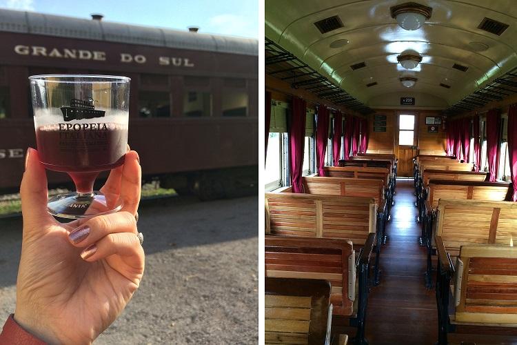 Trem do vinho | Vagão preservado