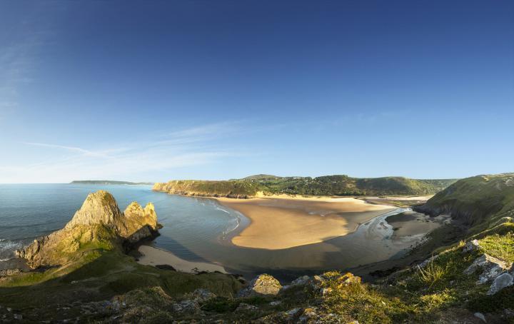 USE AS MAIN IMAGE Gower Peninsula Wales credit VisitBritain - Andrew Pickett