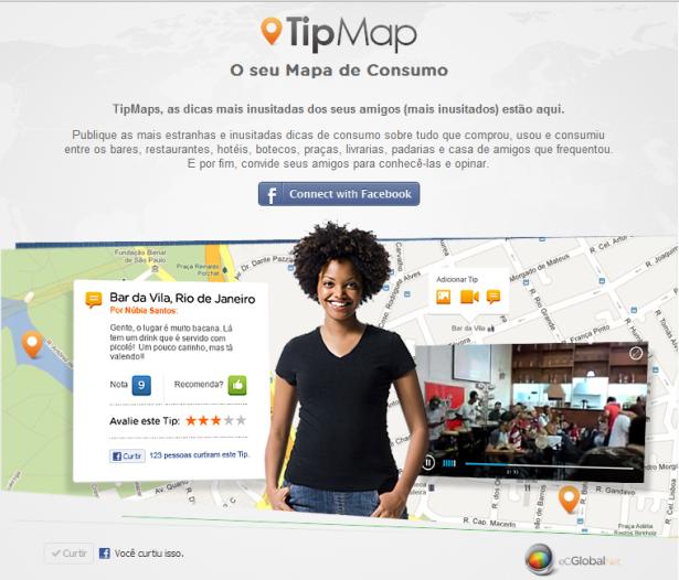 Viaje pelo TipMap