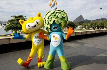 Vinícius, mascote olímpico, representa a fauna brasileira, enquanto Tom, a mascote paralímpico, representa a flora