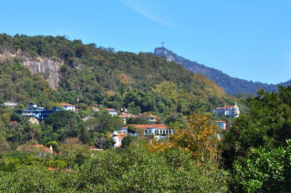 Vista do Parque das Ruínas. Casarões de Santa Teresa
