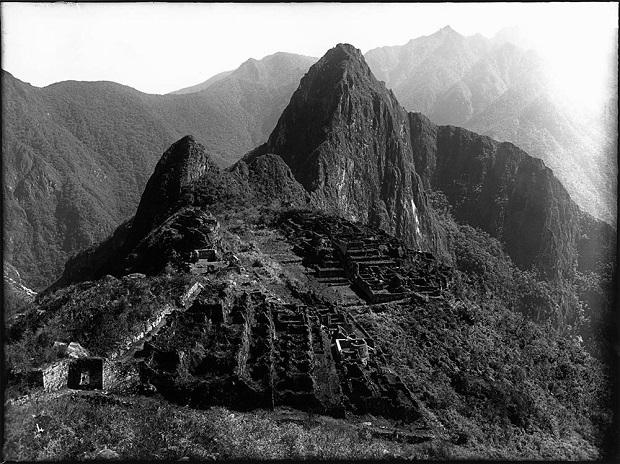 Vista panorâmica da Machu Picchu, 1925
