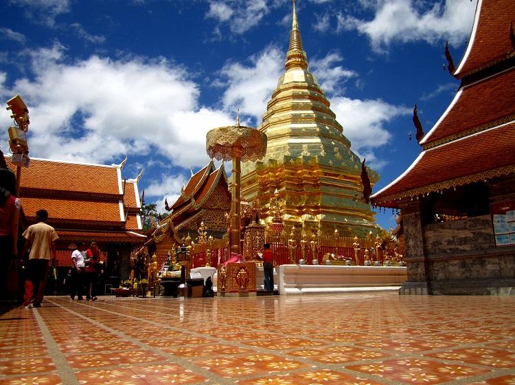 Wat PhraDoiSuthep Tailândia