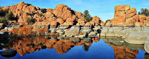 Watson Lake, Prescott Arizona Foto: Jenalyn Janet Ferguson