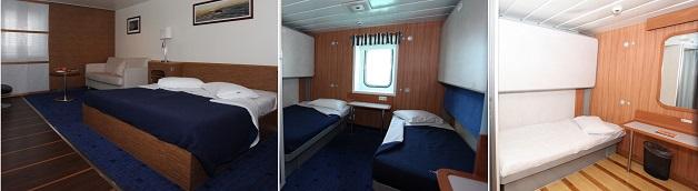 acomodações ferry boat