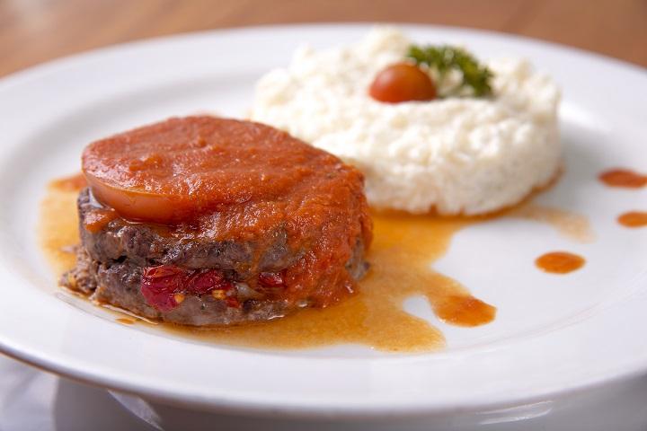 almoço_prato_bobo de carne seca com arroz branco