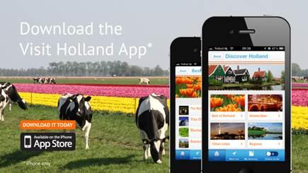 aplicativo Visit Holland