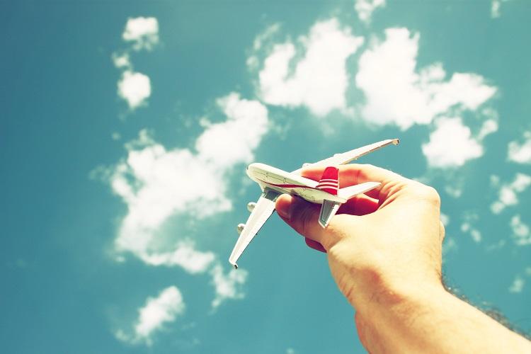 medo de viajar de avião