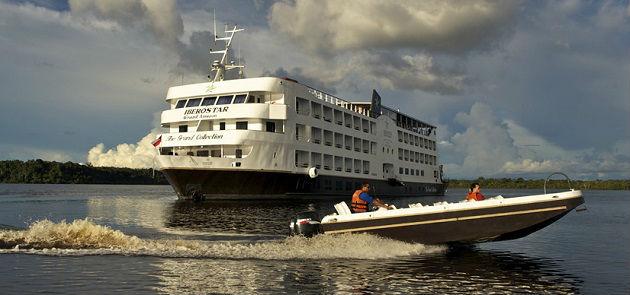 barco hotel Grand Amazon