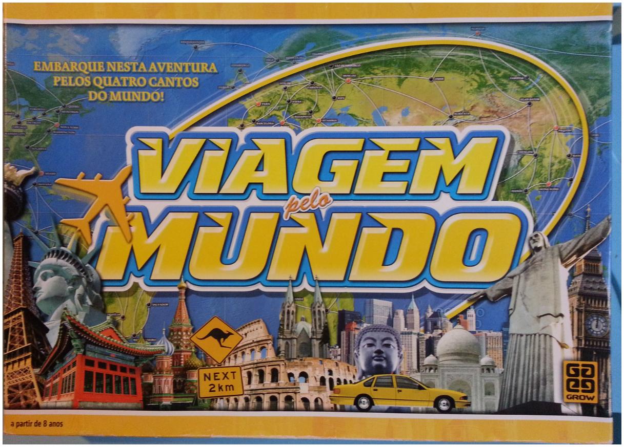Jogo Viagem pelo mundo
