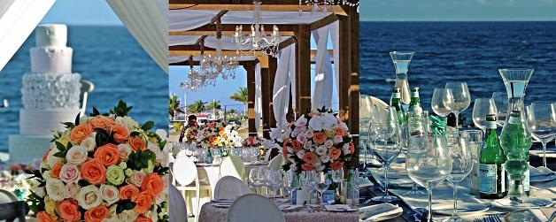 casamento praia bolo